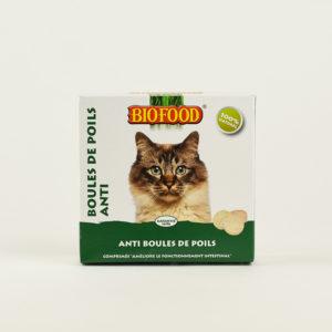 Friandises anti boules de poils pour chat Biofood