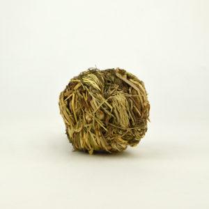Balle en herbe avec clochette pour lapins nains et petits rongeurs