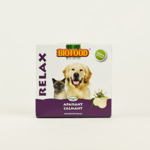 Friandises relax pour chien et chat biofood