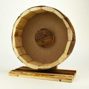 Roue en bois pour hamster roborovski