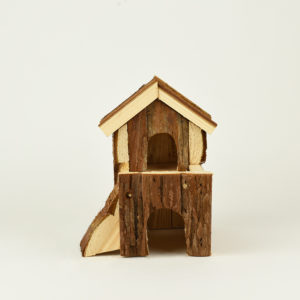 maison bjork natural living en bois naturel pour hamster