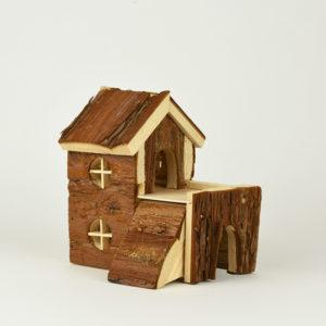 maison en bois pour hamster bjork natural living en bois naturel