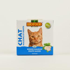 Friandises haleine et dents pour chats biofood
