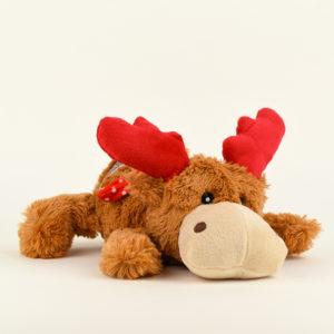 peluche renne Kong cozie Noel chien