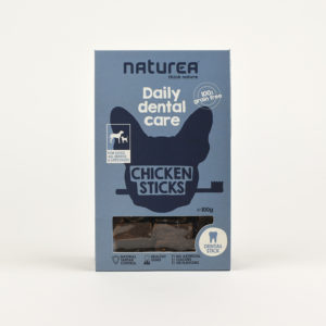 sticks dentaires au poulet naturea chien