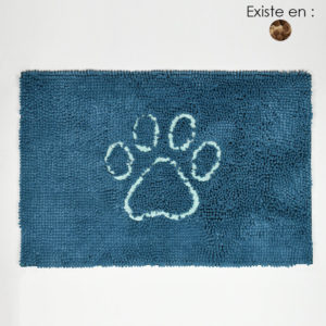 Tapis absorbant dirty dog doormat pour chien