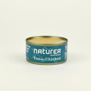 Pâtée au thon et au poulet naturea pour chat