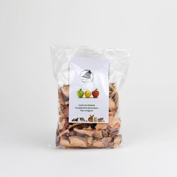 Chips de pomme pour lapins et rongeurs