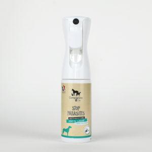 Brumisateur stop parasites tiques puces acariens chien