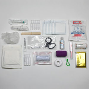 matériel médical pour trousse de secours chien chat