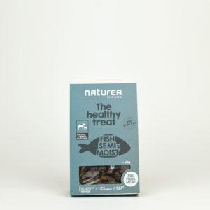 Friandises semi humides au poisson pour chien