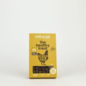 Friandises semi humides au poulet pour chien