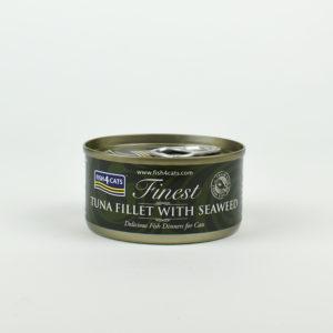 Pâtée au thon et algues marines fish4cats pour chat
