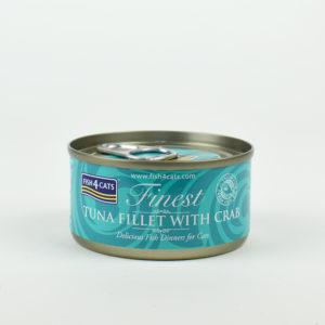 Pâtée thon et crabe pour chat fish4cats