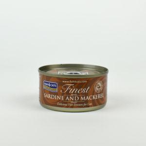 Pâtée sardine et maquereau pour chat fish4Cats