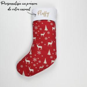 Chaussette de Noël pour Chien, Chat et Lapin et Rongeur
