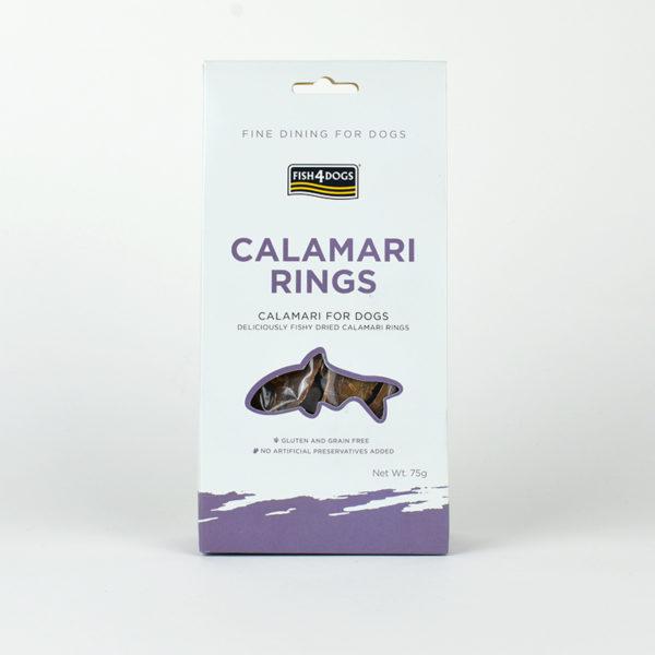 Anneaux de calamar 100% Naturel pour chiens fish4dogs