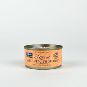 Pâtée sardine et crevette pour chats Fish4Cats