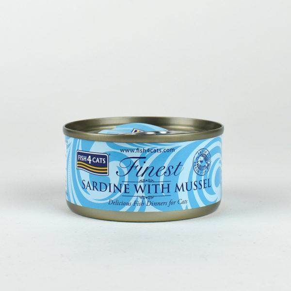 Pâtée sardine et moules pour chats Fish4Cats