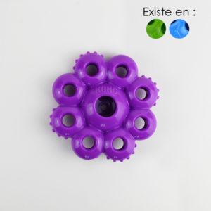 Jouet à remplir en forme de fleur quest star pods chien pour chien