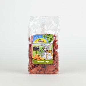 Chips de carotte pour lapin et rongeur