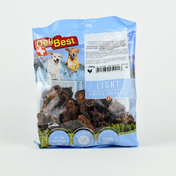 Friandises estomacs de poulet pour chiens DeliBest