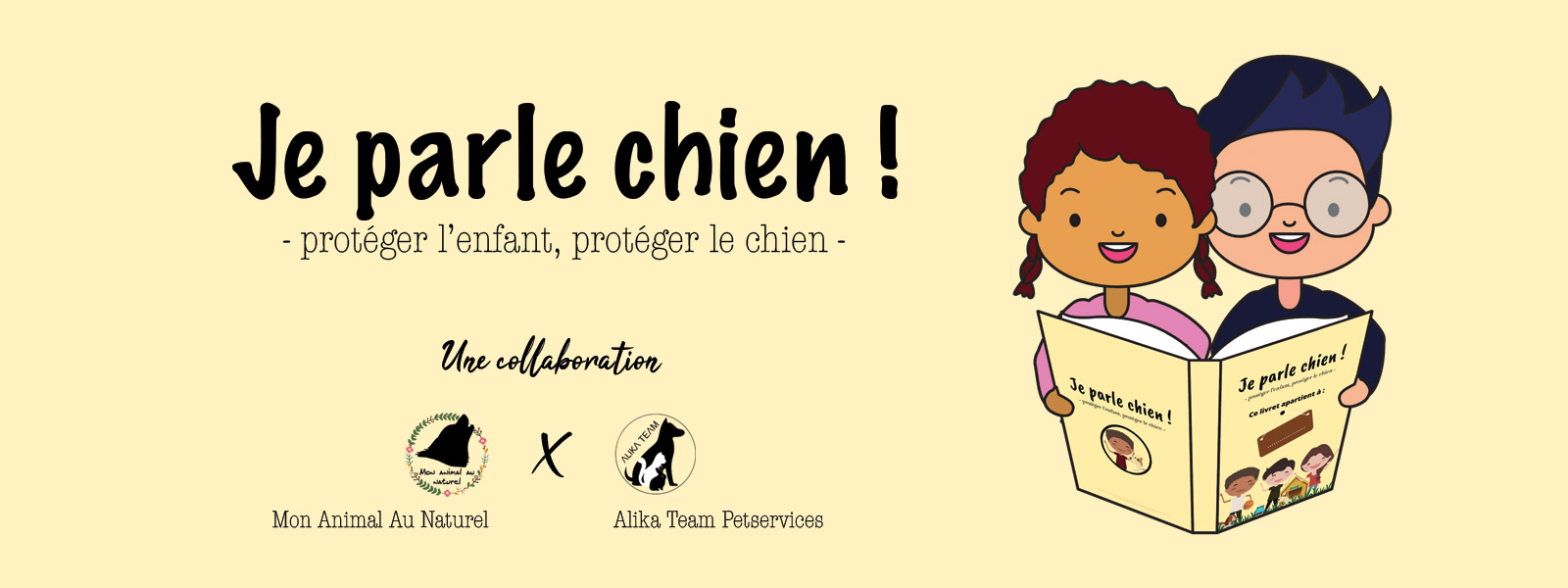 Je parle chien, un livret Ludo-pédagogique sur la relation enfant/chien