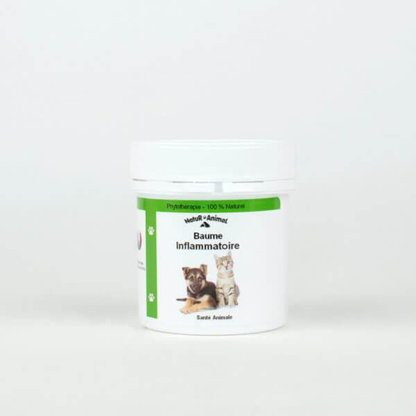 Baume anti-inflammatoire 100% naturel pour chien